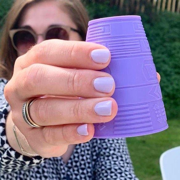∙ 𝗣𝗿𝗲𝗰𝗶𝗼𝘂𝘀 𝗟𝗶𝗹𝗮 ∙   #gellak #nails #nailsofinstagram #nagelsalon #nailsonfleek #lilanails #summernails #nailsinspiration #nailsalon